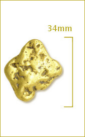 Raw Gold Nugget